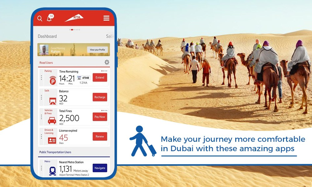 Top Travel apps will make smooth traveling in Dubai