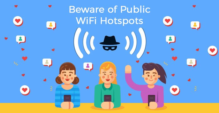 How to Protect Our Data from Hackers While Using Public WiFi Hotspots?