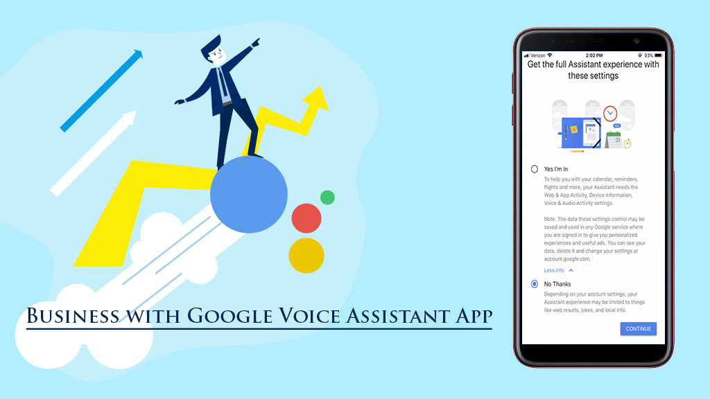 Google Assistant App for Efficient Business Development