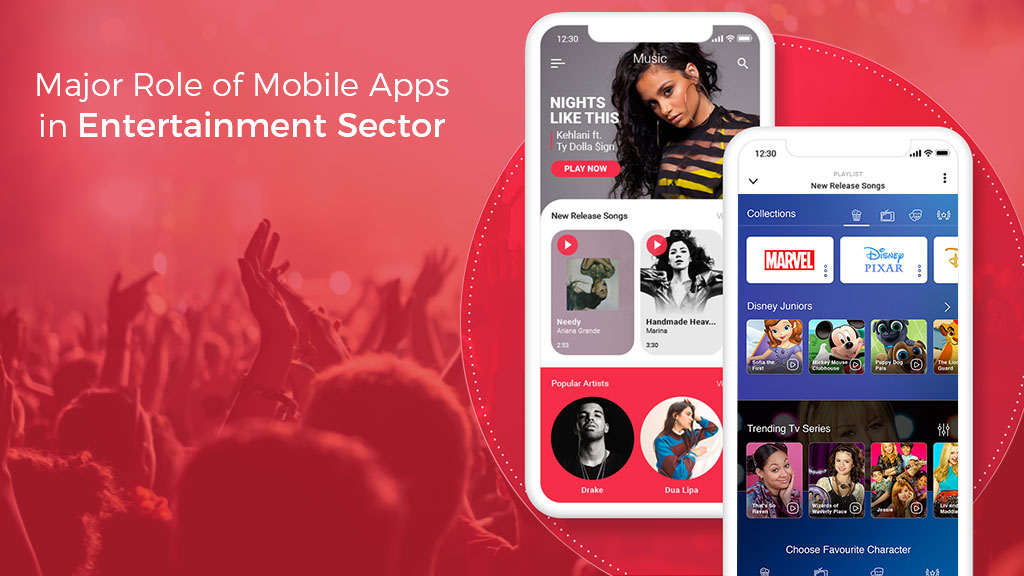 Role of Mobile Apps in Entertainment industry