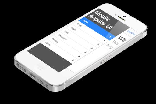 4 Mobile Angular UI